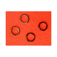 Round Black rings size SS